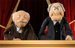 Waldorf and Statler from The Muppet Show